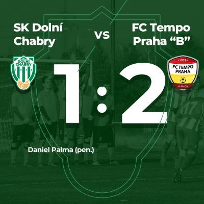 "Těsná prohra s FC Tempo Praha ""B"""