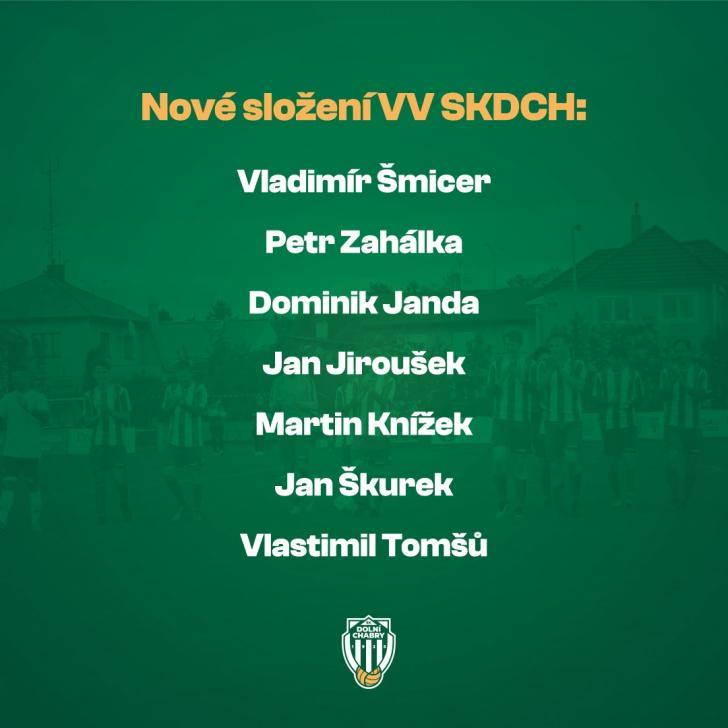 Nové složení VV SKDCH
